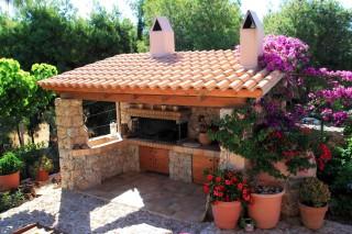 facilities villa christina barbecue