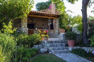facilities villa christina entrance