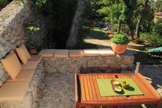 facilities villa christina outdoor sitting area