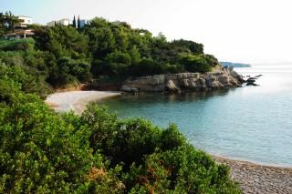 porto heli villa christina beach