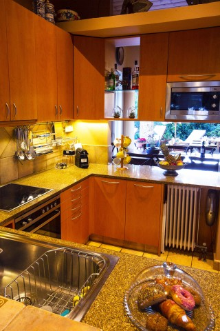 villa christina equipped kitchen