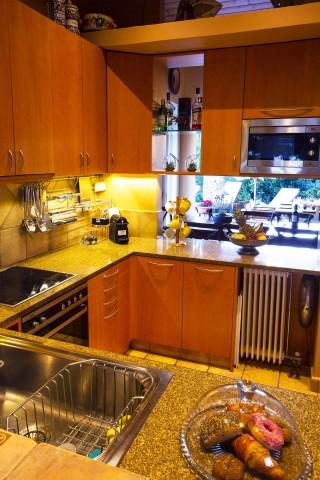 villa christina equipped kitchen